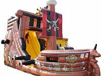 "Батут-горка ""Пиратский корабль"". Аренда."
