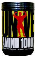 Аминокислоты AMINO 1000 (500 капсул) Universal Nutrition
