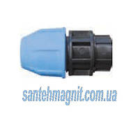 Муфта 25* 1/2 В для соединения полиэтиленовых труб. Наружный водопровод.