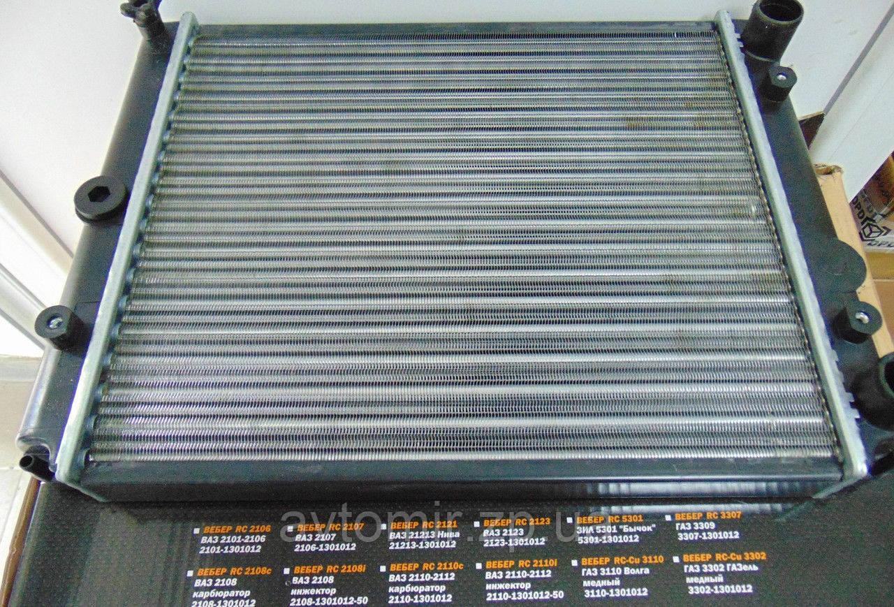 Радиатор охлаждения ЗАЗ 1102-1105,Таврия,Славута WEBER