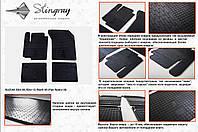 Резиновые Коврики салона Fiat Sedici 06-/Suzuki SX4 05-/Swift 05- 2шт.(Stingrаy)