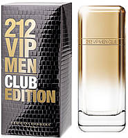 Carolina Herrera 212 VIP Men Club Edition туалетная вода 100 ml. (Каролина Эррера 212 Вип Мэн Клаб Эдишн)