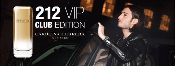 Carolina Herrera 212 VIP Men Club Edition туалетная вода 100 ml. (Каролина Эррера 212 Вип Мэн Клаб Эдишн), фото 2