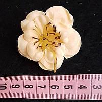 Цветы головки латексные 5 см
