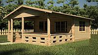 Изготовление дачного домика