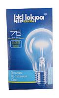 Лампа накаливания 75 Вт в индивидуальной упаковке