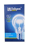 Лампа накаливания 60 Вт в индивидуальной упаковке