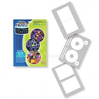 Матовые етикетки FELLOWES вкладышами NEATO для CD/DVD дисков 20шт f.99922