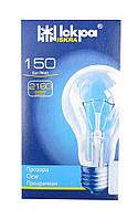 Лампа накаливания 150 Вт индивидуальная упаковка