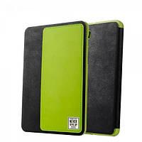 """Кожаный чехол Baseus wies series для Samsung Galaxy Tab S2 8"""" черный+зеленый, фото 1"""