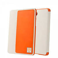 "Кожаный чехол Baseus wies series для Samsung Galaxy Tab S2 8"" белый+оранжевый"