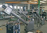 Безвальный шнек с контейнером для очистки сточных вод FC/С-20 AISI 306