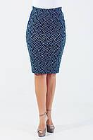 Женская юбка Анабель синяя