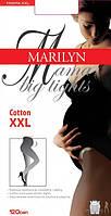 Колготы для беременных  хлопковые COTTON 120 (мама)
