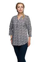 Женская блузка большого размера 1610020/7