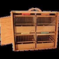 Клетка переноска для кенаров и других мелких птиц.