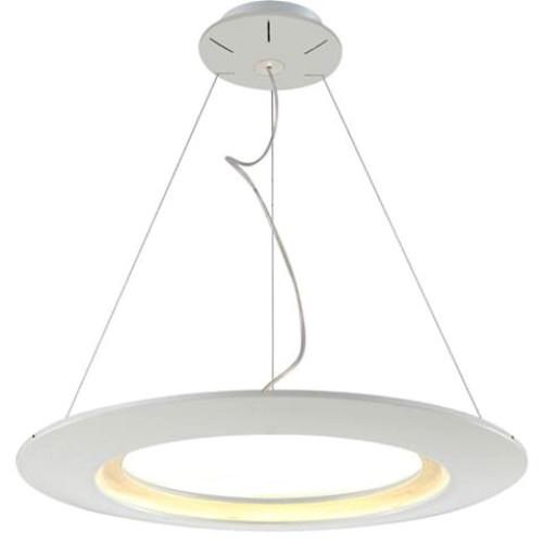 Светодиодная люстра Horoz 019-010-0041 LED 41W 4000K (подвес, белая) Код.58713