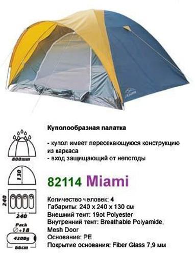 Палатка  MIAMI