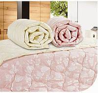 Одеяло Arya Бамбуковое Двуспальное евро 200х220 бежевое, розовое