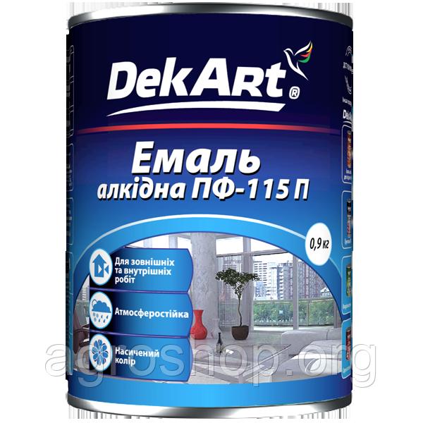 """Эмаль алкидная ПФ-115П ТМ """"DekArt""""25 кг"""