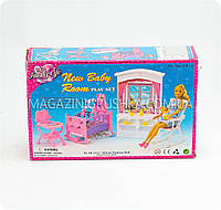 Мебель для кукол «Детская комната» 24022