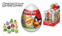 ANGRY BIRDS Драже в пластиковом яйце с игрушкой (36м) 6/12, 20г.