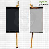 Дисплейный модуль (дисплей + сенсор) для HTC Desire 700 Dual Sim, оригинал, черный