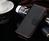 [ Чехол-книжка HTC One M8 ] Стильный классический чехол-книжка