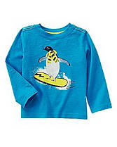 Реглан на мальчика 2 года Пингвин-сноубордист Crazy8 (США)