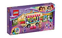 Детский конструктор Lego Friends Парк развлечений: Фургон с хот-догами