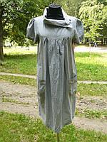 Платье для беременных серого цвета
