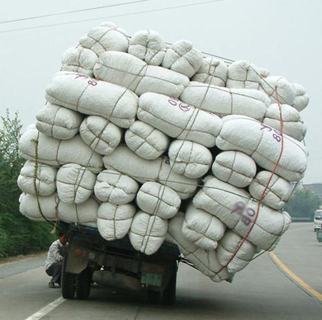 Каким транспортом забирать мешки?
