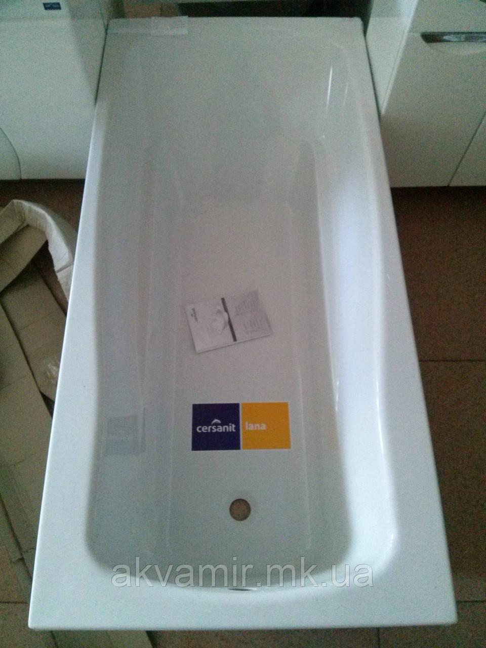 Ванна акриловая Cersanit LANA 170 X 70 с креплением