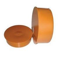 Заглушка ПВХ для наружной канализации 110 (100) - Инсталпласт-ХВ
