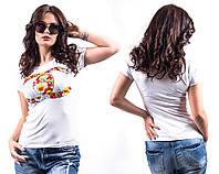 "Стильная молодежная футболка "" Chanel Цветы "" Dress Code"