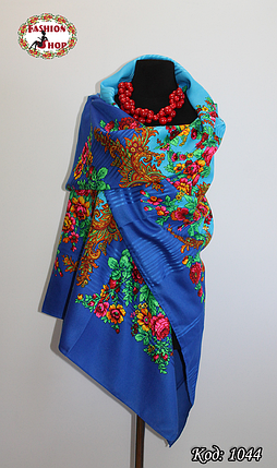 Павлопосадский платок без бахрамы Амира, фото 2