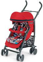 Прогулочная коляска-трость CAM Microair Красный с цветным матрасиком