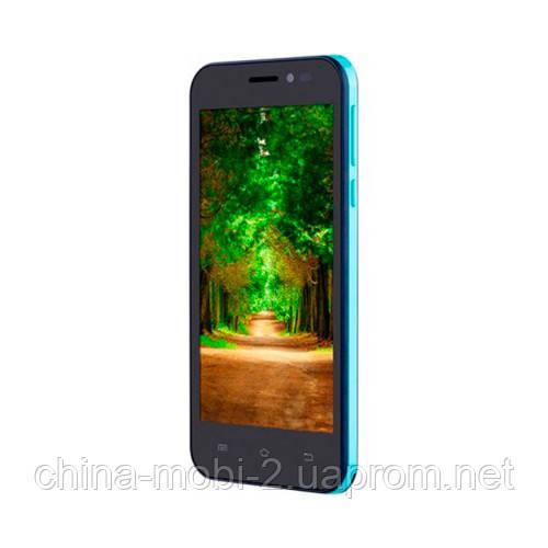 Смартфон Nomi i451 Twist  8Gb dual Blue-Cyan