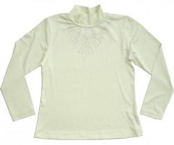 Блуза школьная для девочки Ожерелье