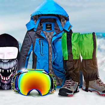 Товары для катания на лыжах и сноуборде