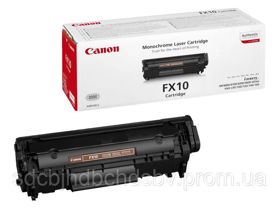 Заправка картриджа Canon FX10 для принтера МF4018, МF4320d, MF4330d, МF4140, МF4120, МF4340d, МF4350d, MF4150