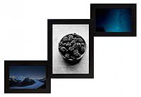 Мультирамка Лесенка — Мини Черная 3 фото