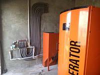 Монтаж системы отопления для хозяйственно-бытовых помещений свинофермы «Світанок» (фотоотчет)
