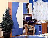 Набор мебели для детской Эколь с кроватью (БМФ) МДФ , фото 2