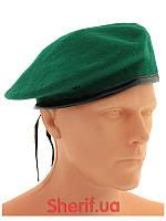 Зеленый берет (Берет пограничника) MIL-TEC Green 12403001