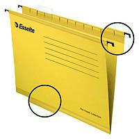 Подвесные папки Esselte Pendaflex, желтый, 25 шт.