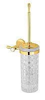 Ёрш для туалета настенный KUGU Bavaria 305G Gold
