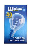 "Лампа накаливания шар Е14 40 Вт в коробочке (ДШ) ""Искра"" Львов, фото 1"