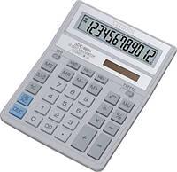 Калькулятор Citizen SDC-888 ХWH 12ти разрядный, бело-серый