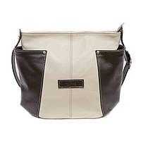 Женская стильная сумка Vatto кожаная светлая
